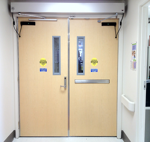 Fire-Rated Commercial Doors